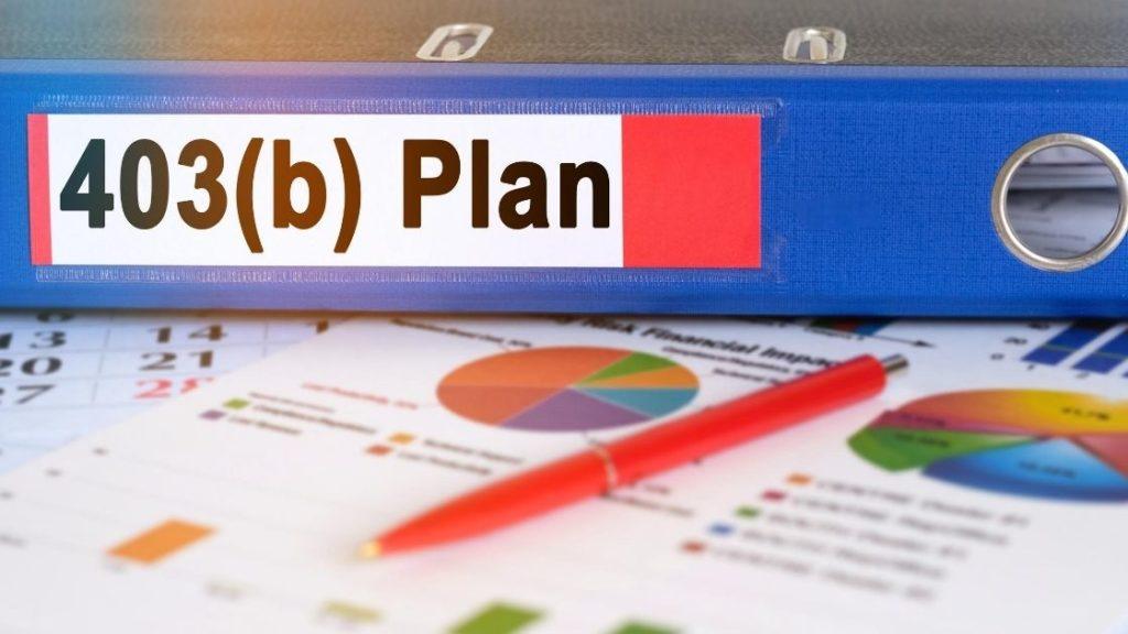 403(b) Plan Binder Spine Paper Charts Austin Asset